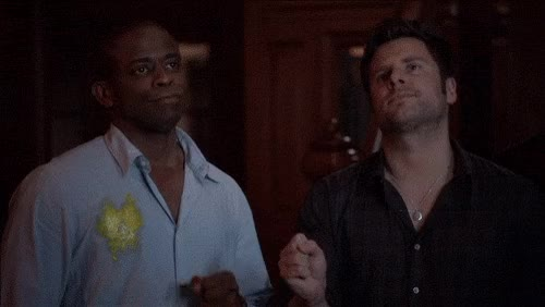 Watch this fist bump GIF by Reaction GIFs (@sypher0115) on Gfycat. Discover more Dulé Hill GIFs on Gfycat