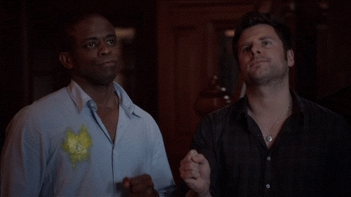 Dulé Hill, Fist Bump GIFs