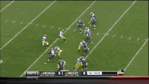Watch and share Michigan State Football GIFs on Gfycat