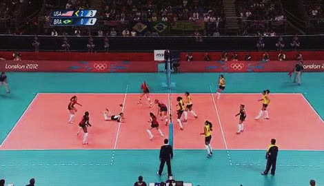 Watch and share Usa Volleyball Lindsey Berg Gif GIFs on Gfycat