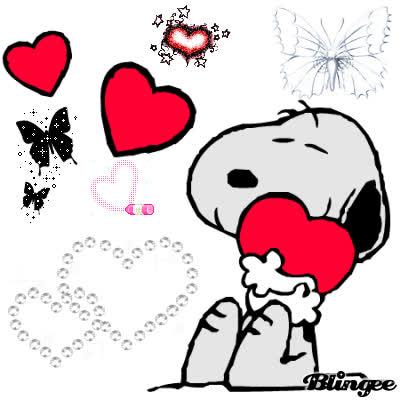 Snoopy Love GIF