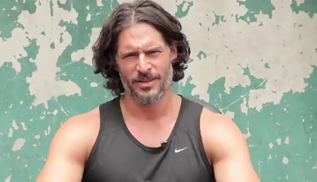 joe manganiello, Joe Manganiello's Cover Shoot (January 2014 Issue) GIFs