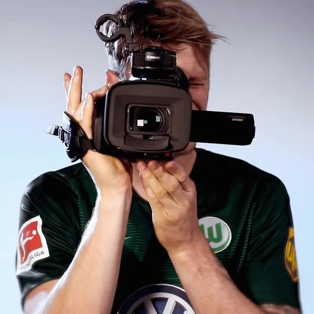 Watch and share 9 Camera GIFs by VfL Wolfsburg on Gfycat
