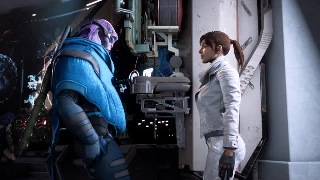 Watch First Contact GIF by @dirzee on Gfycat. Discover more mass effect: andromeda GIFs on Gfycat