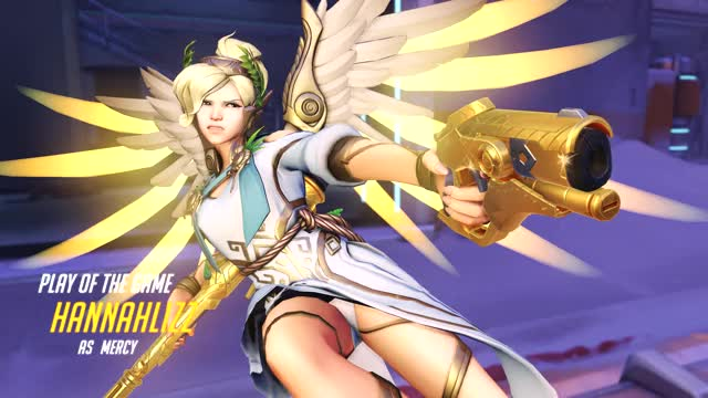Watch and share Overwatch GIFs and Mercy GIFs by hannahlizz on Gfycat