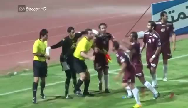Watch and share Football GIFs and Red Card GIFs on Gfycat
