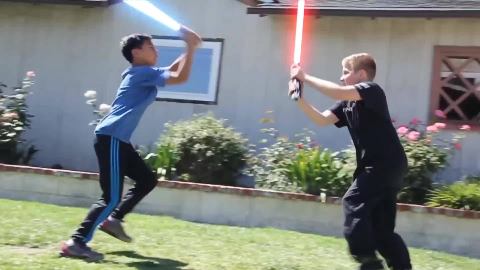 StarWars, bakanewsjp, Ahh memories... How Kids Play Star Wars (reddit) GIFs