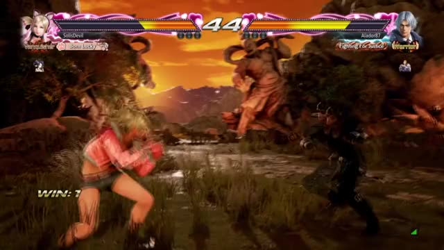 Watch Jumping GIF by Aster0 (@aster0) on Gfycat. Discover more Lucky Chloe, Tekken 7 GIFs on Gfycat