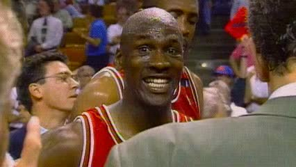 Watch and share Michael Jordan GIFs and Clap GIFs by Off-Hand on Gfycat