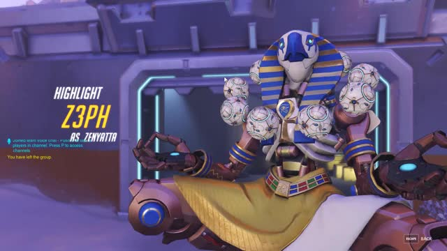 Watch Zenyatta highlight GIF on Gfycat. Discover more overwatch GIFs on Gfycat