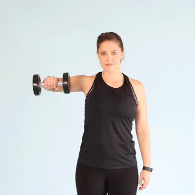 Watch and share 400x400-Overhead External Shoulder Rotation GIFs by Healthline on Gfycat