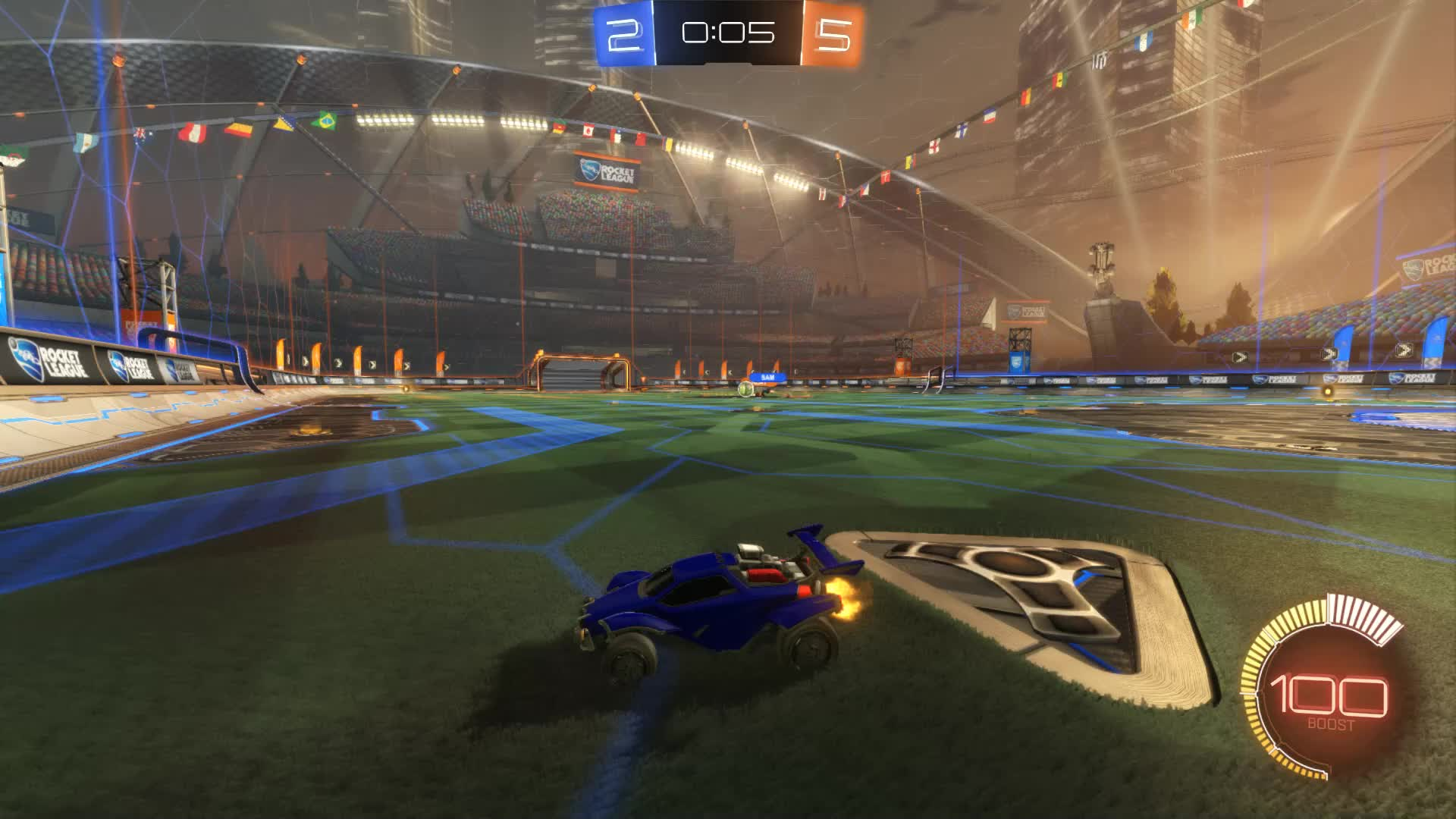 Gif Your Game, GifYourGame, Goal, Rocket League, RocketLeague, TECHNONINJA, Goal 8: TECHNONINJA GIFs