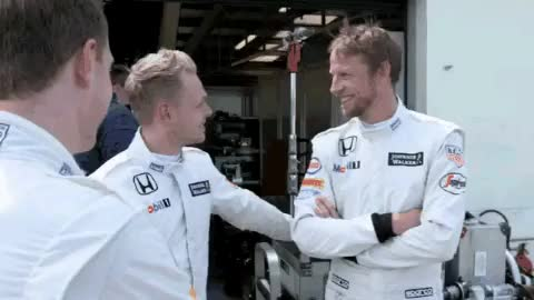 Watch My world of Formula 1 GIF on Gfycat. Discover more McLaren Honda, f1, fernando alonso, jenson button, kevin magnussun, stoffel vandoorne GIFs on Gfycat