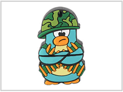 Clé USB Pingouin Soldat - 4 Go GIFs