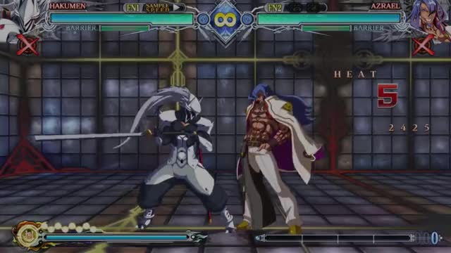 Watch and share BBCF: Hakumen Expert 5 GIFs by snuffychris605 on Gfycat