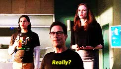 Watch and share 1k * The Flash Mine: Gif Barry Allen Caitlin Snow Harrison Wells GIFs on Gfycat