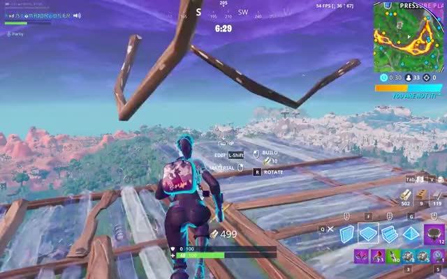 Watch and share Fortnite 2019-06-25 14-14-43 GIFs by bigmajorloser on Gfycat