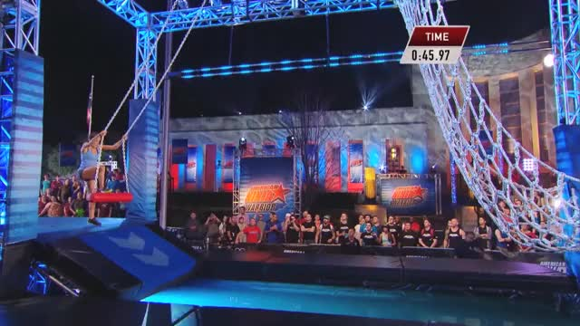 Kacy Catanzaro at the 2014 Dallas Finals | American Ninja Warrior