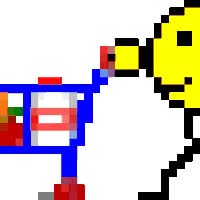 Watch and share Shopping Cart Smiley animated stickers on Gfycat