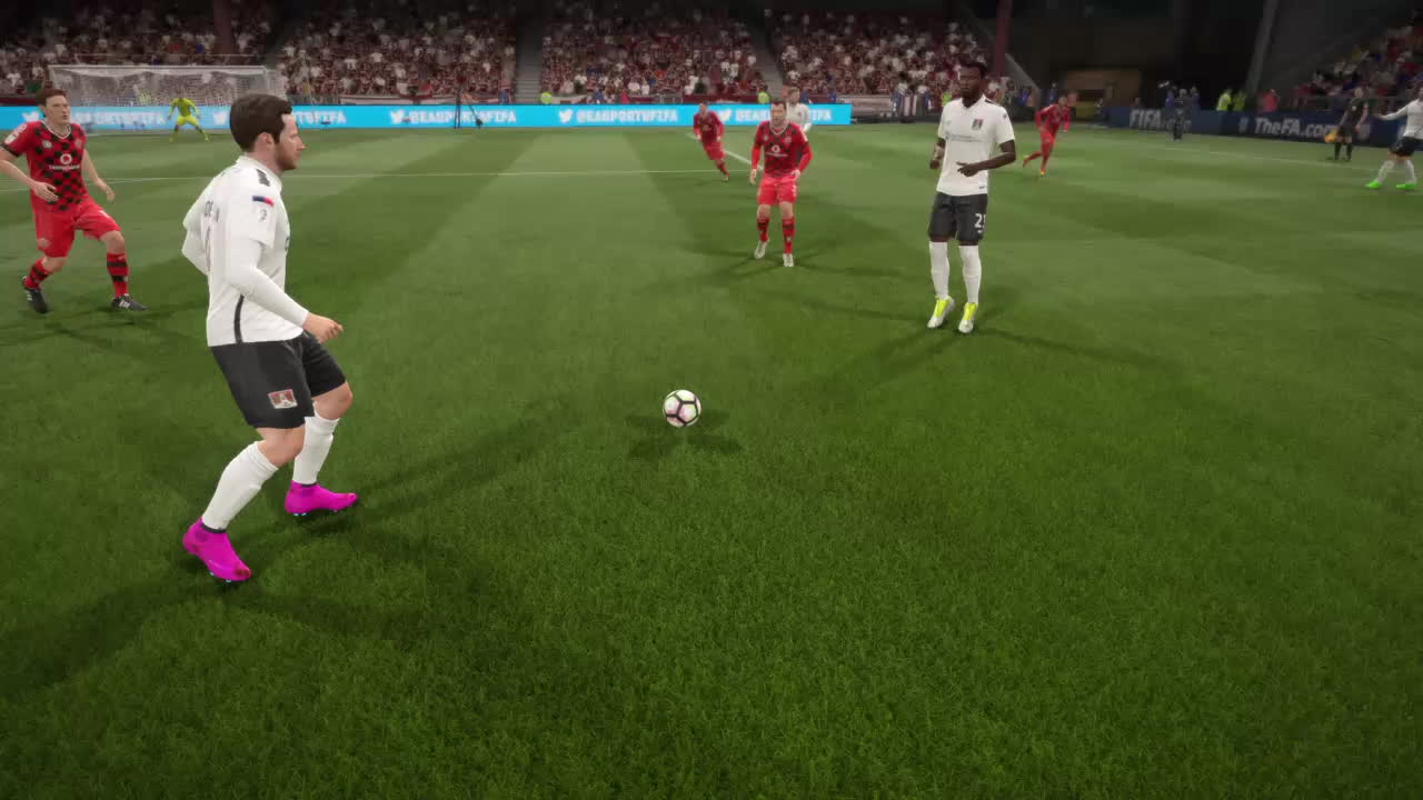 FifaCareers, fifa, fifa17, How many touches does it take? GIFs