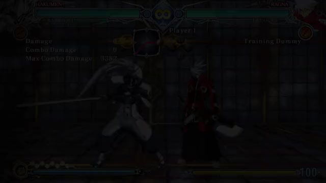 Watch and share BBCF: Sample Hakumen 6T Combos GIFs by snuffychris605 on Gfycat