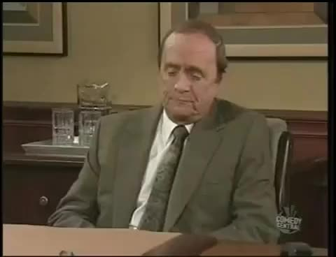 Watch and share Newhart GIFs and Stop GIFs on Gfycat