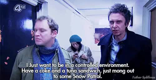 Watch and share Peep Show Quotes Super Hans GIFs on Gfycat