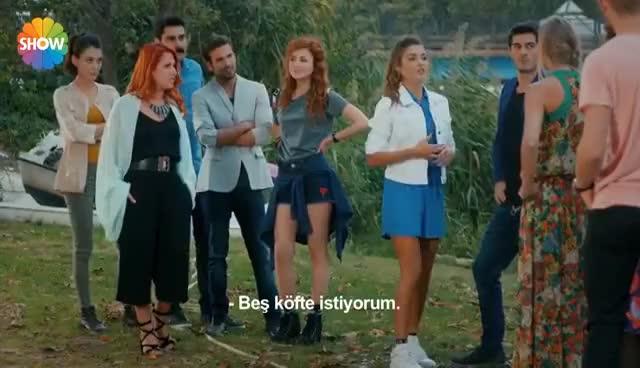 Watch and share Aşk Laftan Anlamaz 14.Bölüm   Hayat'ın Su Gibi Almancası GIFs on Gfycat