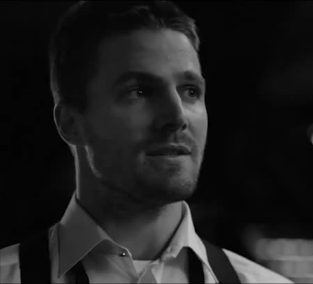 Watch and share Black And White GIFs and Stephen Amell GIFs on Gfycat