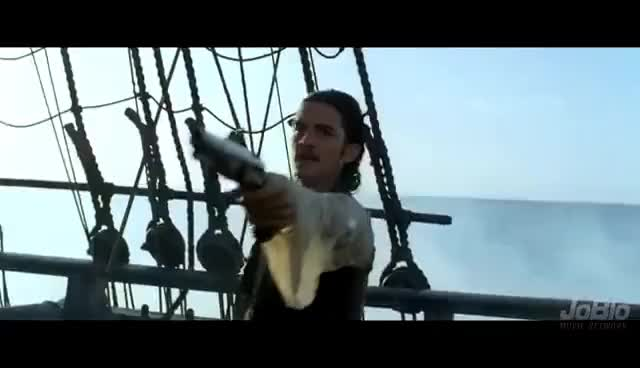 Watch Pirates of the Caribbean: Curse of The Black Pearl Movie CLIP - Barbossa Agreed |FULL HD| GIF on Gfycat. Discover more related GIFs on Gfycat