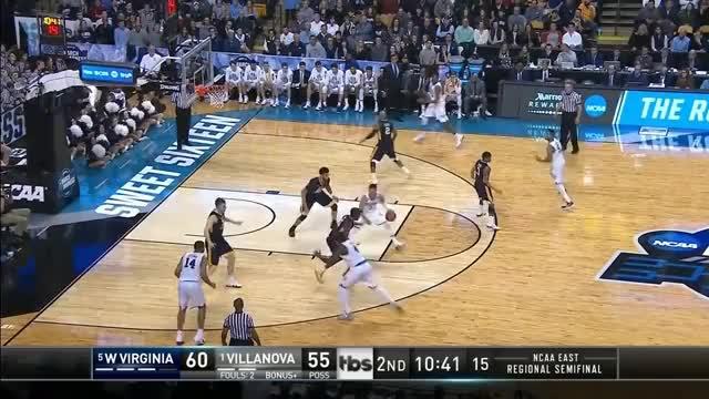 Watch Villanova's Jalen Brunson drops 27 points on West Virginia in the Sweet 16 GIF on Gfycat. Discover more NCAA GIFs on Gfycat