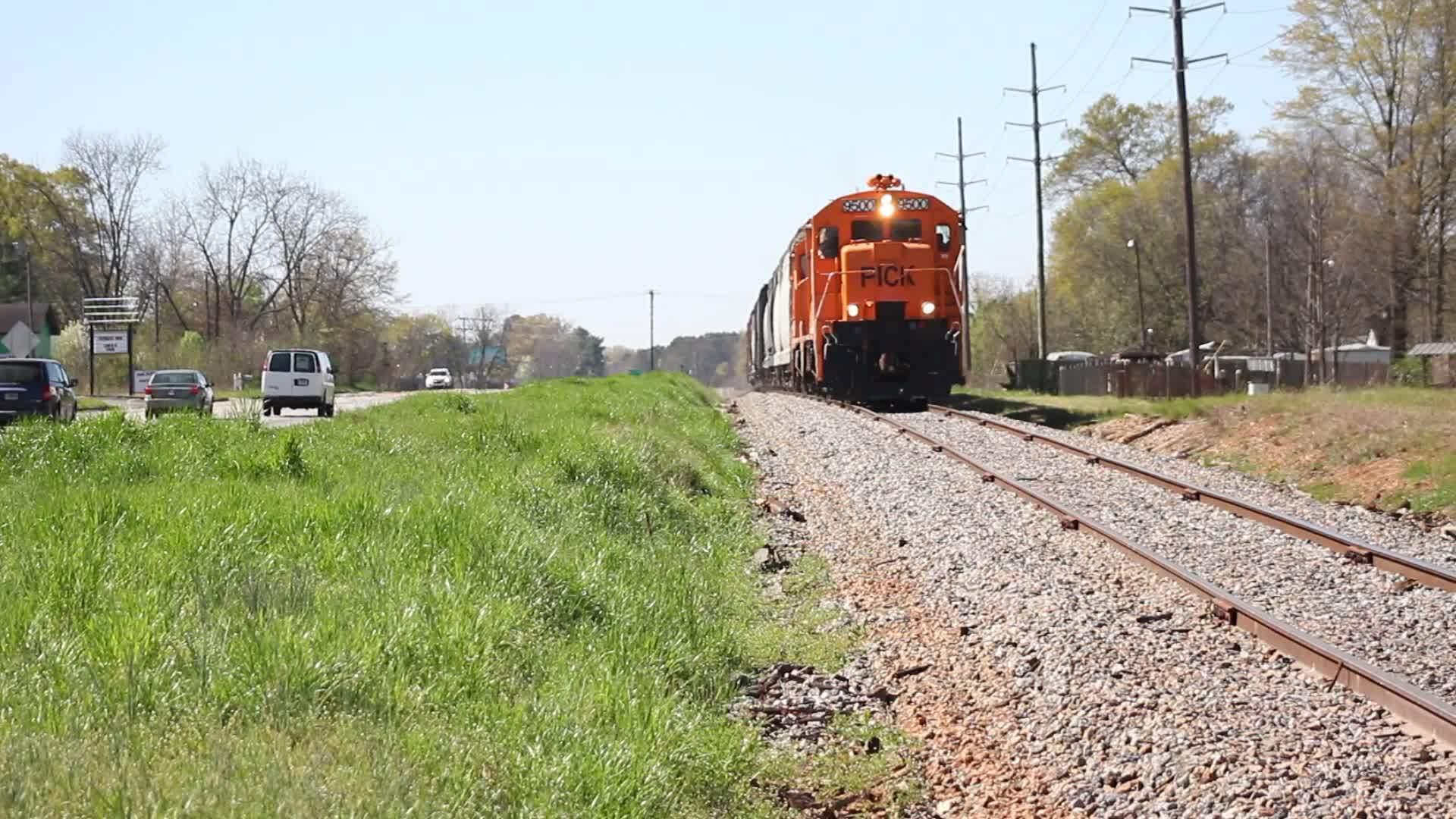 traingifs, Pickens Railway in SC GIFs