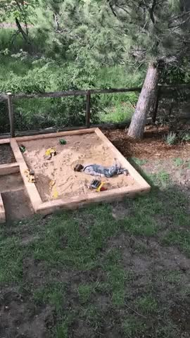 Watch and share Making Sand Angels GIFs on Gfycat