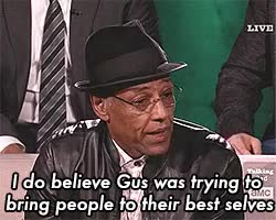 Watch and share Giancarlo Esposito GIFs and Mike Ehrmantraut GIFs on Gfycat