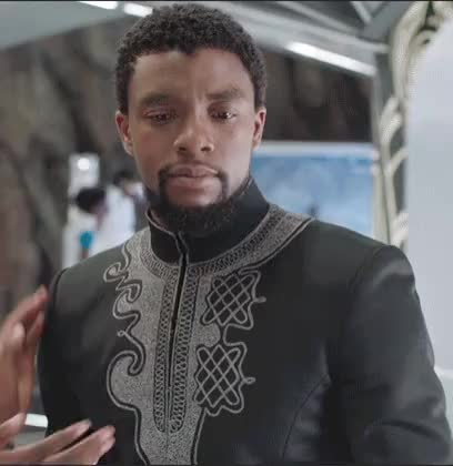 Watch and share Chadwick Boseman GIFs and Wakanda Forever GIFs on Gfycat