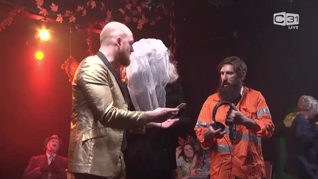 Watch and share The Aunty Donna LIVE Spooktacular - Monday 30th October 2017 - DonnaSpookAU LONGER.mkv GIFs on Gfycat