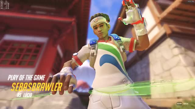 Watch and share Overwatch GIFs and Lucio GIFs by sebasbrawler on Gfycat