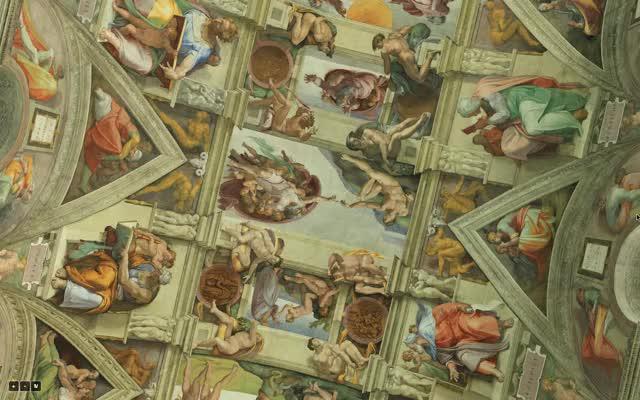 Watch and share Sistine Chapel GIFs on Gfycat