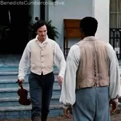 Watch Benedict Cumberbatch GIF on Gfycat. Discover more 12 Years A Slave, Benedict Cumberbatch, Chiwetel Ejiofor, Film, Gif GIFs on Gfycat