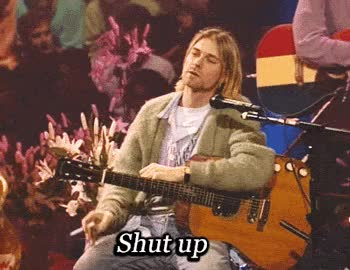 Watch and share Shut Up GIFs by Reactions on Gfycat