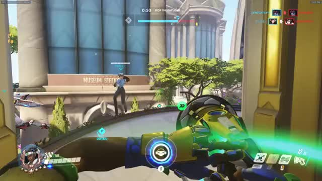 Watch and share Overwatch GIFs and Wall Ride GIFs on Gfycat
