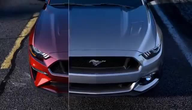 Watch and share Meet The 2018 Ford Mustang GIFs on Gfycat