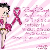 Watch and share Betty Boop Breast Cancer Photo: Breast Cancer BB_BreastCancer_LittleShy.gif GIFs on Gfycat