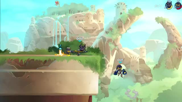 Watch and share Brawlhalla GIFs by drperry on Gfycat