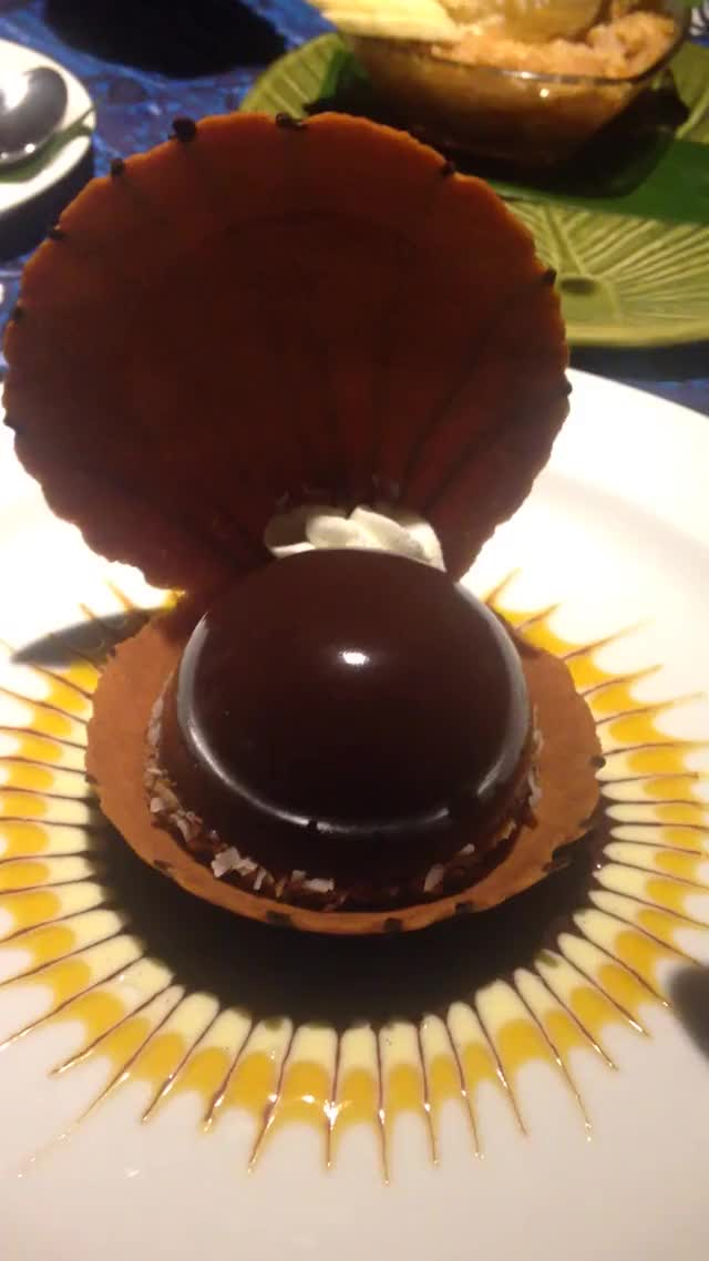 Watch Black Pearl chocolate mousse dessert GIF on Gfycat. Discover more dessert, food, gifs GIFs on Gfycat