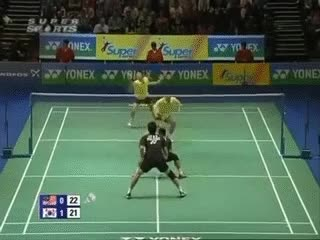 Watch and share 🏸 Badminton GIFs on Gfycat