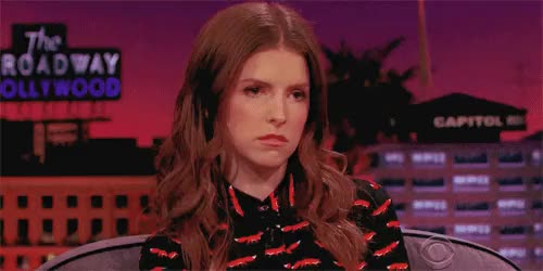 Watch Resting Bitch Face (x) GIF on Gfycat. Discover more anna kendrick, brittany snow, edit, hailee steinfeld, james corden, my, pitch perfect, pitch perfect 2, the late late show GIFs on Gfycat