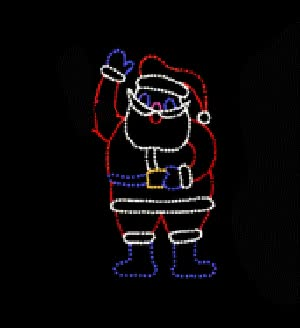 Watch and share Waving Santa GIFs on Gfycat