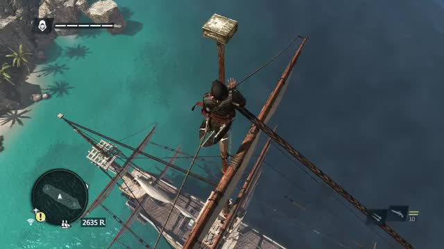 Watch and share Assassin's Creed 4 GIFs and Leap Of Faith? GIFs by blackfur on Gfycat
