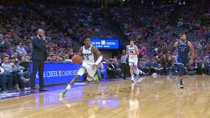 Watch De'Aaron Fox — Sacramento Kings GIF by Off-Hand (@off-hand) on Gfycat. Discover more 102418 GIFs on Gfycat
